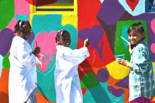Glen Park Spring Mural Project