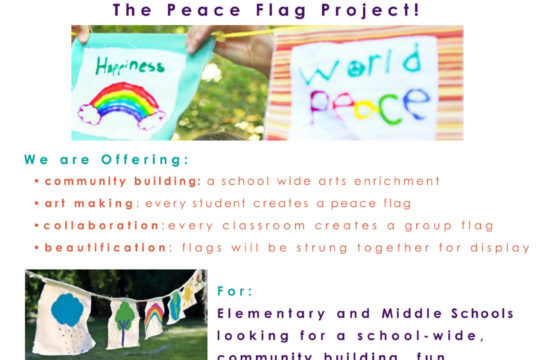 Bay Area Peace Flags Project – Winter 2016/2017