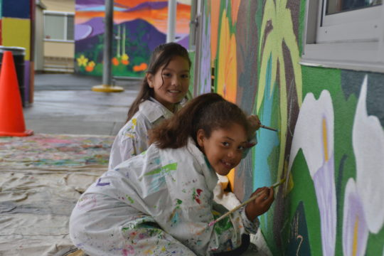 4 Consecutive Years of Murals!! <br />Monroe Elementary School <br />550 K-5th students